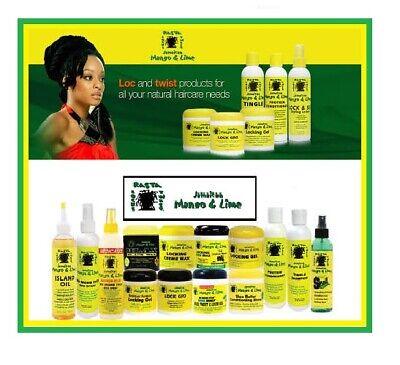 Jamaican Mango & Lime/Lock Gro/Creme Pudding/Lock Firm Wax- Full Range