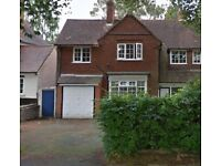 POTENTIALLY A 7 BEDROOM PROPERTY ** SWANSHURST LANE ** MOSELEY ** GROUP OF WORKING PROFESSIONALS