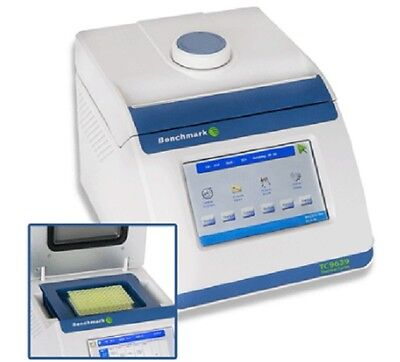 New Benchmark Scientific Tc5000-96 Thermal Cycler W Touch Screen Control