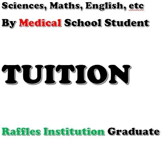 The Art and Science of Tuition (Secondary School Science Tuition: O Levels / IP)