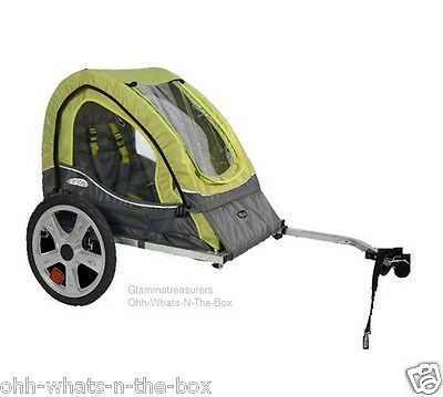 Bike Trailer Bicycle Carrier Baby Toddler Child Recreation Cycle Single 1 Seater for sale  Richmond