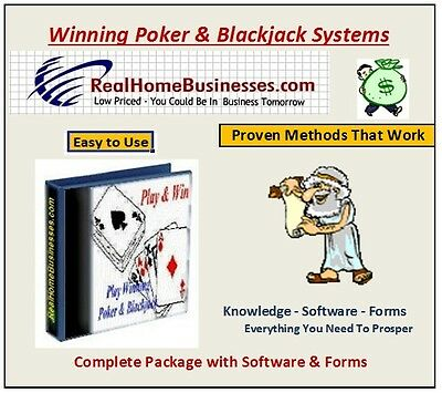 Proven Computer Accurate Poker   Blackjack Systems
