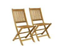 Wanted wooden garden chairs