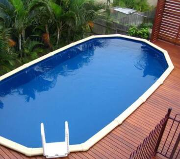 Above Ground Pool Sterns Whitsunday 6.1 x 3.8 x 1.37 Cannington Canning Area Preview
