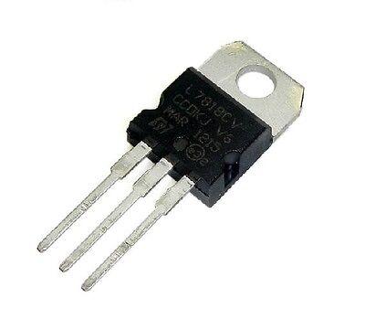 100pcs L7818cv L7818 7818 Voltage Regulator 18v 1.5a
