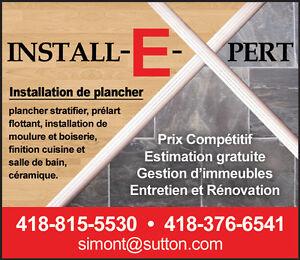 Pour tout travaux de rénovations ou finition , couvre-plancher !