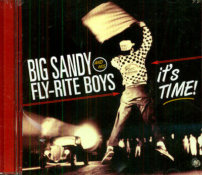 BIG SANDY AND THE FLY-RITE TRIO It's Time! CD PROMO NEW ROCK COUNTRY (Big Sandy And The Fly Rite Trio)