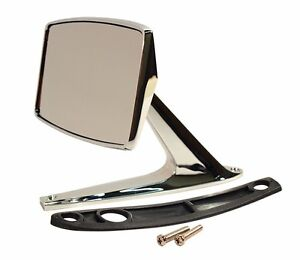 1967-1968 Ford Mustang Standard Outside Mirror - Fits Left or Right Side