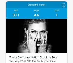 2 Taylor Swift Concert Tickets (May.22)