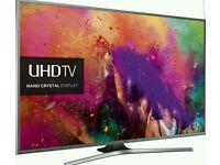 Samsung 55 inch 4k smart led TV. ULTRA HD nano crystal ue55ju6800