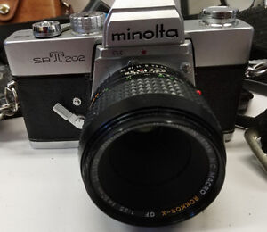 Film cameras and lenses for sale
