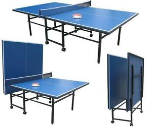 NEW FOLDING TABLE TENNIS TABLE BOARD PING PONG TABLE KBL08T for sale  Alberta