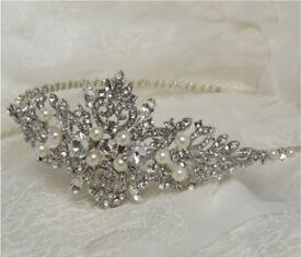 Wedding / Bridal head band / hair band