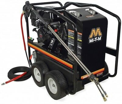 Mi-t-m Hsp Series Hot Water Pressure Washer 3500psi 3.3gpm Hsp-3504-3mgk