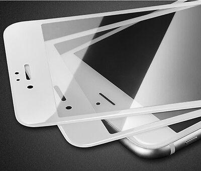 2x 3D Panzer Glasfolie für iPhone 6 iPhone 6S Displayschutz Panzerfolie WEISS