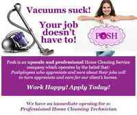 Up To $14/Hour || VACUUMS SUCK! BUT, YOUR JOB DOESN'T HAVE TO!!!