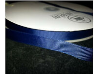 Large roll of ribbed sanding ribbon 4cm wide(navy)
