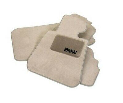 Genuine NEW Set of Carpeted Floor Mats Beige for BMW E63 6-Series 645CI 650I
