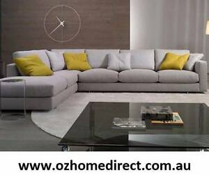 COPENHAGEN CORNER LOUNGE WITH 6 FREE DOWN FEATHER CUSHIONS Chatswood Willoughby Area Preview