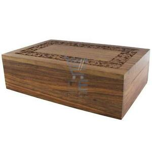 Medium-Hand-Carved-Wooden-Jewellery-Box-Locking-Box-Trick-Box