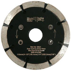 Mortar-Raking-Diamond-Blade-125mm-x-8-5mm-Wide-Dual-Cut-Rake-Fast-Cutting