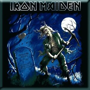 IRON-MAIDEN-Benjamin-Breeg-fridge-magnet-3-square-metal-free-UK-P-P-gift