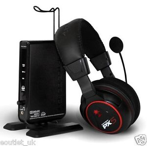 Turtle Beach Ear Force PX5 Wireless Gaming Headset For Playstation 3 PS3 NEW