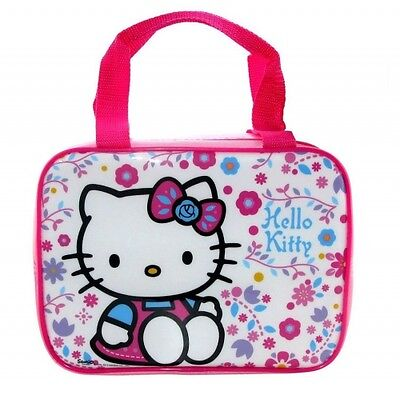 Hello Kitty Folksy School Rectangle Lunch Bag Brand New Gift