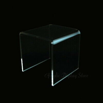 Acrylic Clear Square Riser Display Stand 3 X 3 X 3