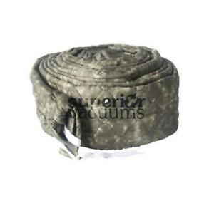 Central Vacuums Hose Cover, 35' Pad-A-Vac Padded Olive Green Marble