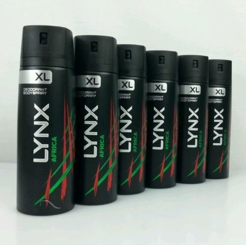 Lynx africa xl six pack or lynx 6 pack of lynx black xl for 50cm deep kitchen units