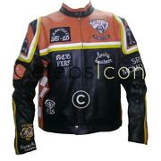 Mens Cow Leather Jacket
