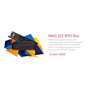 MAG322W1 inbuilt wifi for SALE