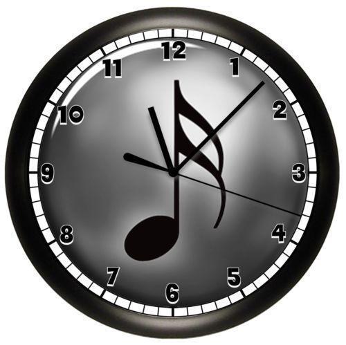 Music Note Clock Ebay