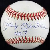 Mickey Mantle Autographed Baseball UDA