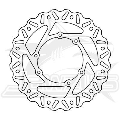 ProX Front Brake Disc/Rotor 37.BD11295