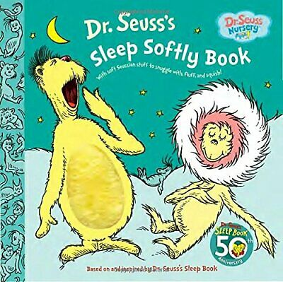 NEW - Dr. Seuss's Sleep Softly Book (Dr. Seuss Nursery Collection)
