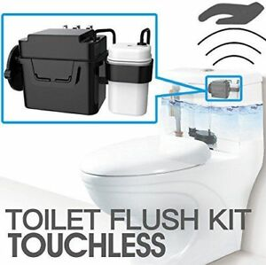 BNIB TECHO Touchless Toilet Flush Automatic Motion Sensor