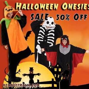 Halloween Costume Onesie Party Wear Pumpkin Skeleton Bat Sale Adelaide CBD Adelaide City Preview