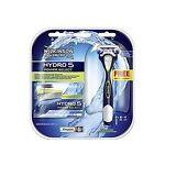 Wilkinson by Schick Hydro 5 Power Select Kit: 5 Cartridges + 1 Razor + 1 Battery