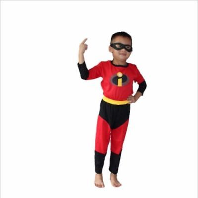 The Incredibles Flash Costume For Kids  Halloween Cosplay Clothing Mask @](Halloween Costumes For Kids Cheap)