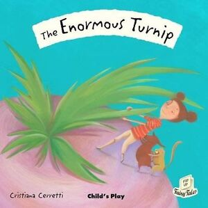 , The Enormous Turnip (Flip-Up Fairy Tales), Very Good Book