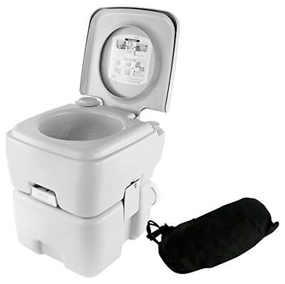 Boating Toilet Porta Potty Portable toilet Camping HIking RV Flushing 5.3  Gallon 7d0e4a255070c
