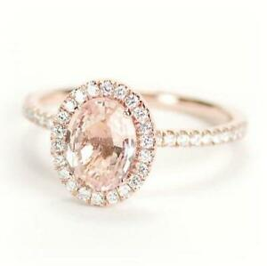 Rose Gold Diamond Ring Ebay