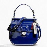 Coach Blue Handbag