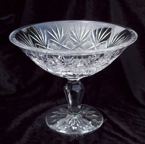 Waterford Crystal Compote Ebay