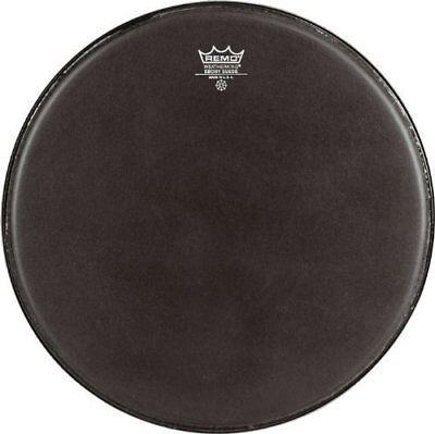 Remo ES0813MP Black Suede Emperor Crimplock Marching Tenor Drum Head, 13-Inch Black Marching Tenor Drum Head