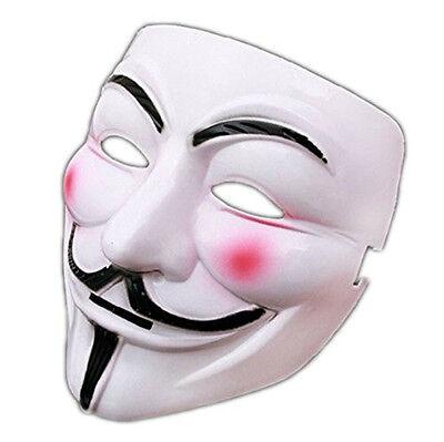 V for Vendetta Mask Guy Fawkes Anonymous Halloween Masks fancy dress costume USA