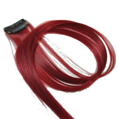 Dark Red Hair Extensions Ebay