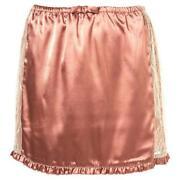 TOPSHOP Satin Skirt